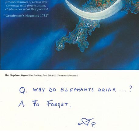 Elephant Fayre Postcard