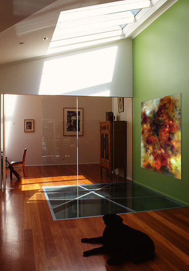 Example of artwork in an interior