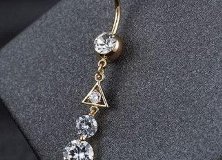 Dreieck mit Steinen