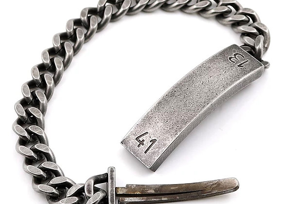 Antique Edelstahl Armband