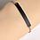 Thumbnail: Edelstahl Armband mit Platten 5 mm breit - silber