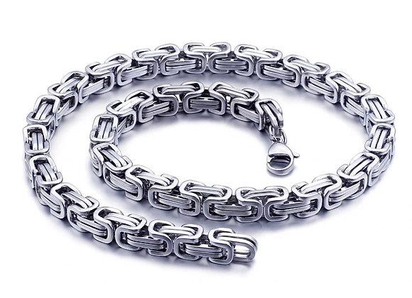 König Kette - Silber - 12 mm