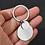 Thumbnail: G - Schlüsselanhänger mit runder Platte
