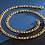 Thumbnail: Edelstahl Figaro vergoldet - in verschiedenen Größen