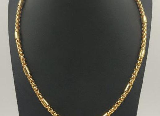 Edelstahl Kette gerundet - 2 mm breite