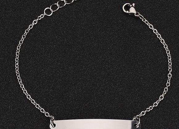 Edelstahl Armbändchen - 4.5mm breit