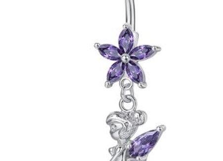 Kopie von Fee mit lila Steinen