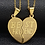 Thumbnail: Edelstahl Doppelherz - Best Friend