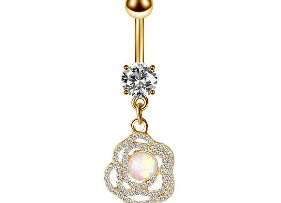 Opal Rose mit Stein