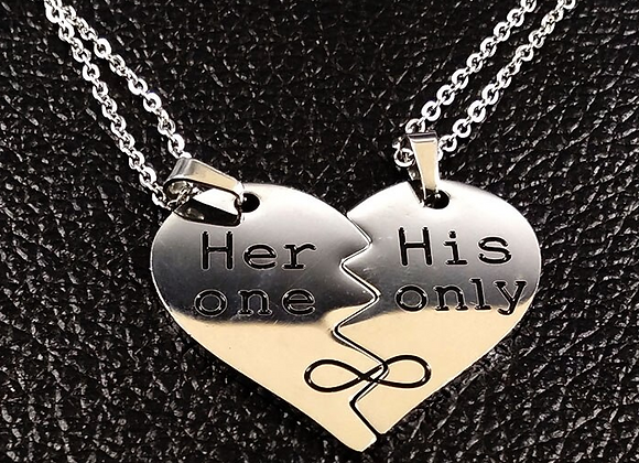 Her one -His only