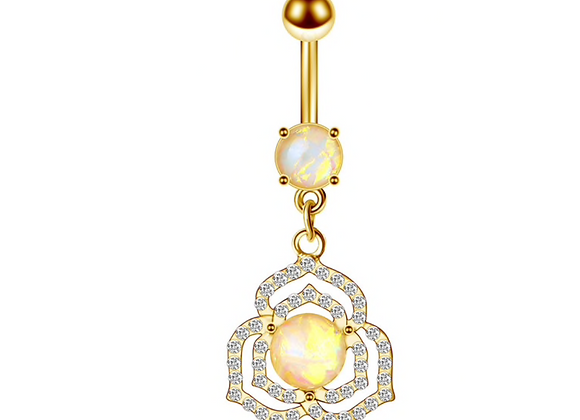 Vergoldet Opal Design