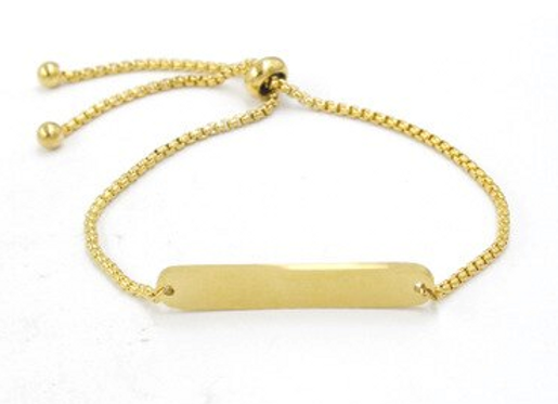 Armband mit gerundeter Boxkette