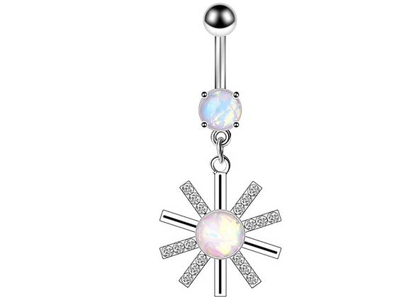 Opal Stern Weiß