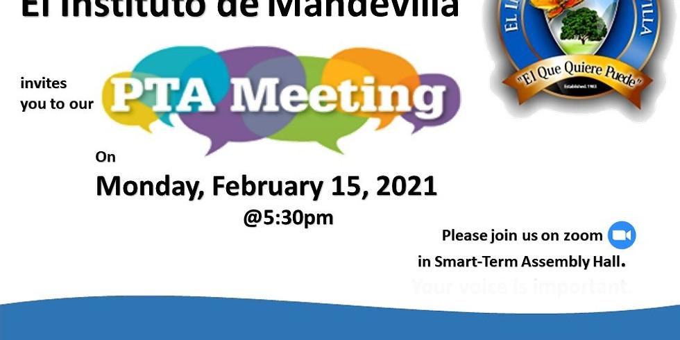 Grades 4 - 6 Virtual PTA Meeting