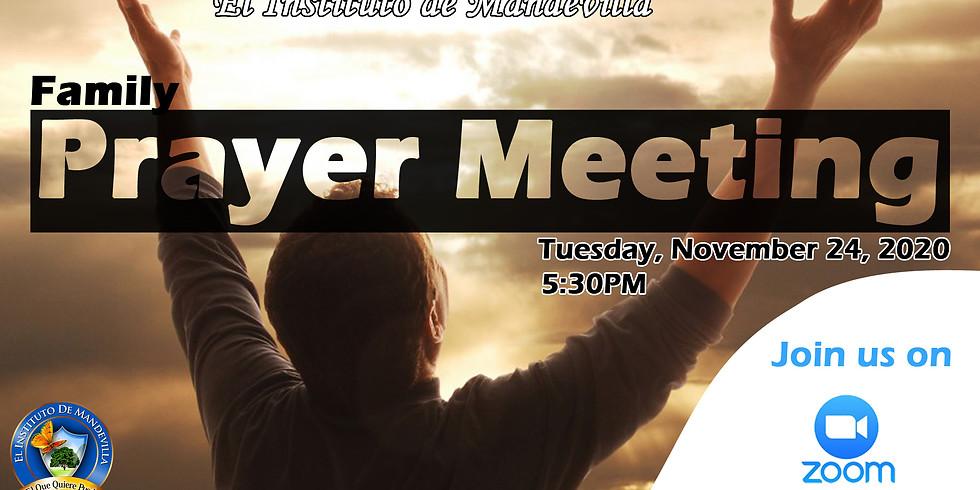 Family Prayer Meeting