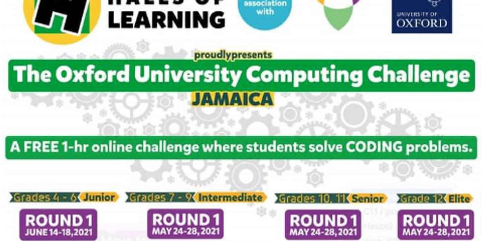 Round 2 Juniors Halls of Learning - Coding Computing Challenge