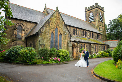 St. Andrews and Briars Hall Wedding