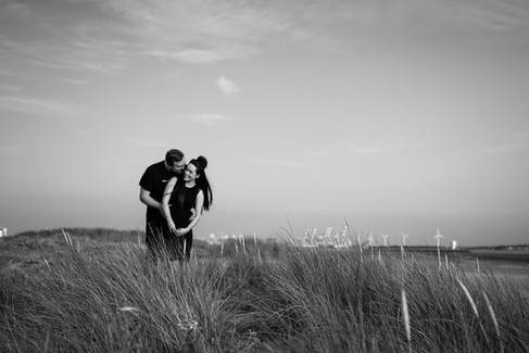 Pre wedding shoot Crosby Beach