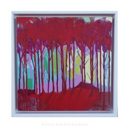 Rød skog