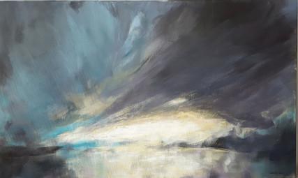 Mørk sky  -  SOLGT