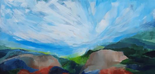 Abstrakt landskap