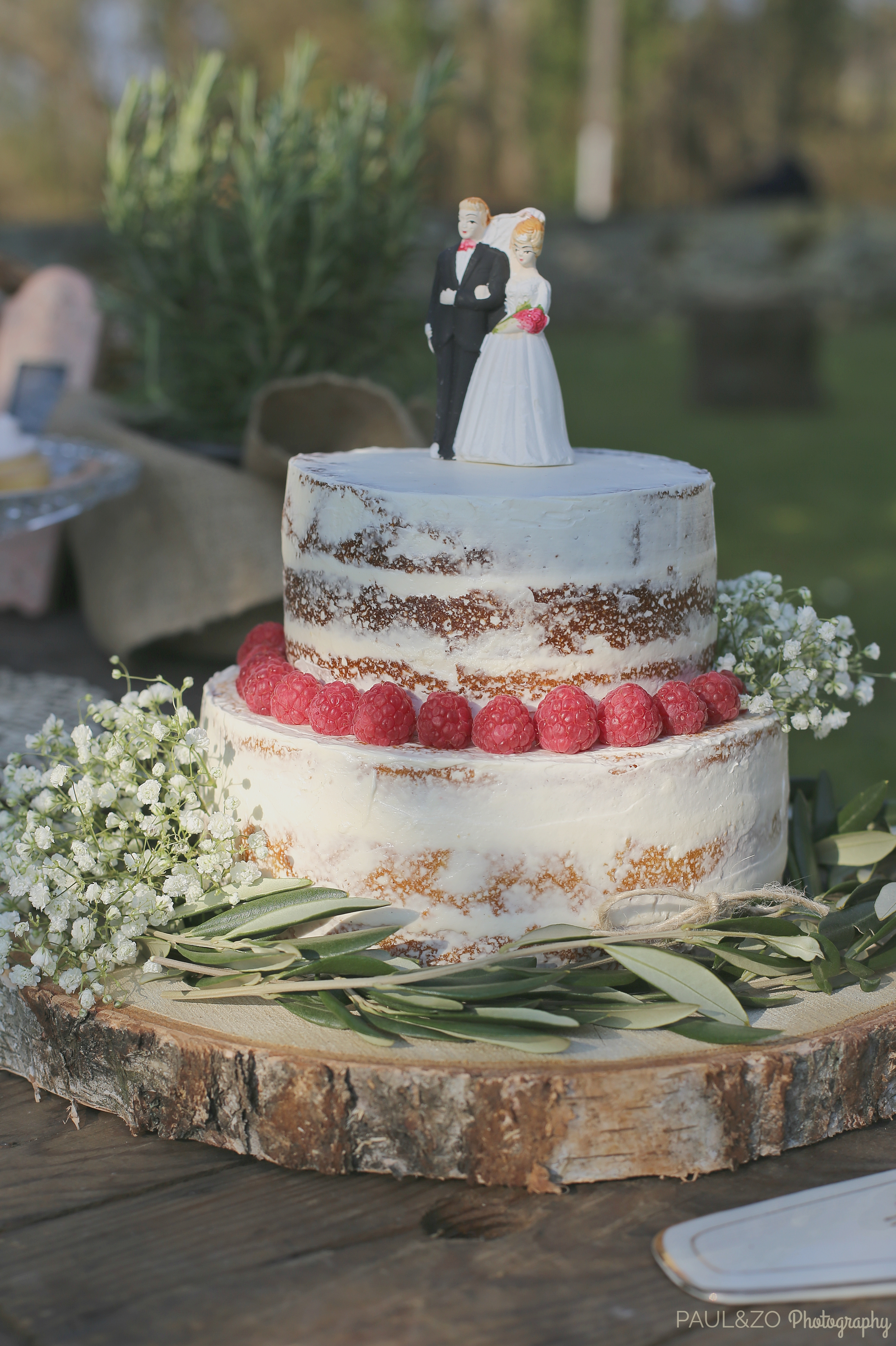 Semi Naked Cake Champêtre