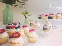 Minis cupcakes fleuris