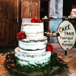 Semi Naked Cake Rustique