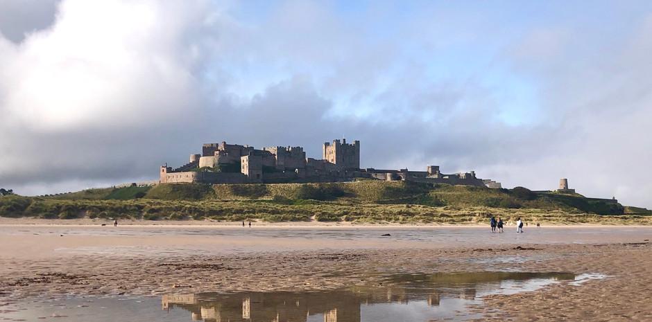 Bamburgh Beach & Castle