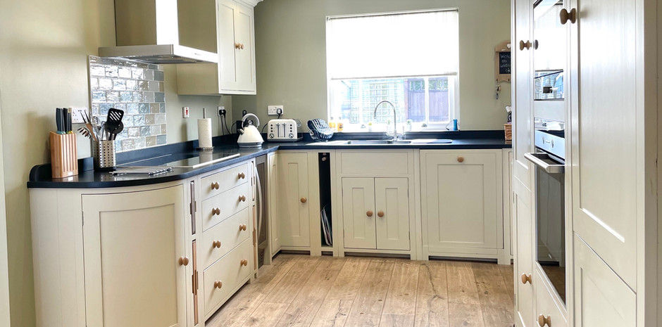 Neptune Kitchen with integral appliances
