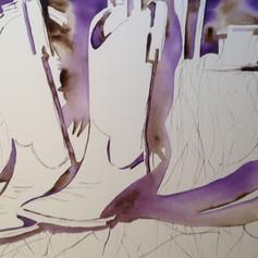 Number 10-Watercolor