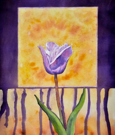 Violet Tulip Drip