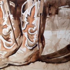 Number 4-Watercolor