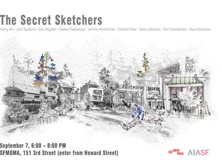 I'm a Secret Sketcher