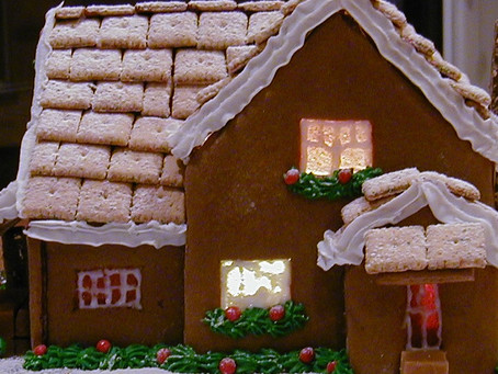 20 Years of Making Gingerbread Houses