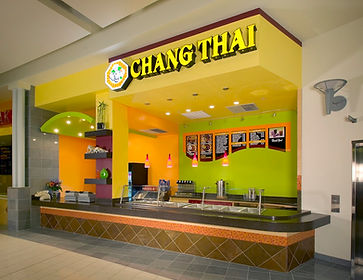 Jennifer Kretschmer Architect Chang Thai Restaurant in Mall
