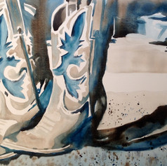 Number 3-Watercolor