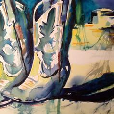 Number 6-Watercolor