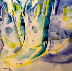 Number 19-Watercolor
