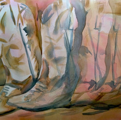 Number 17-Watercolor