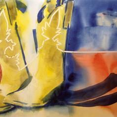 Number 8-Watercolor