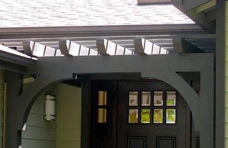 Entryway to a house - Jennifer Kretschmer Architect