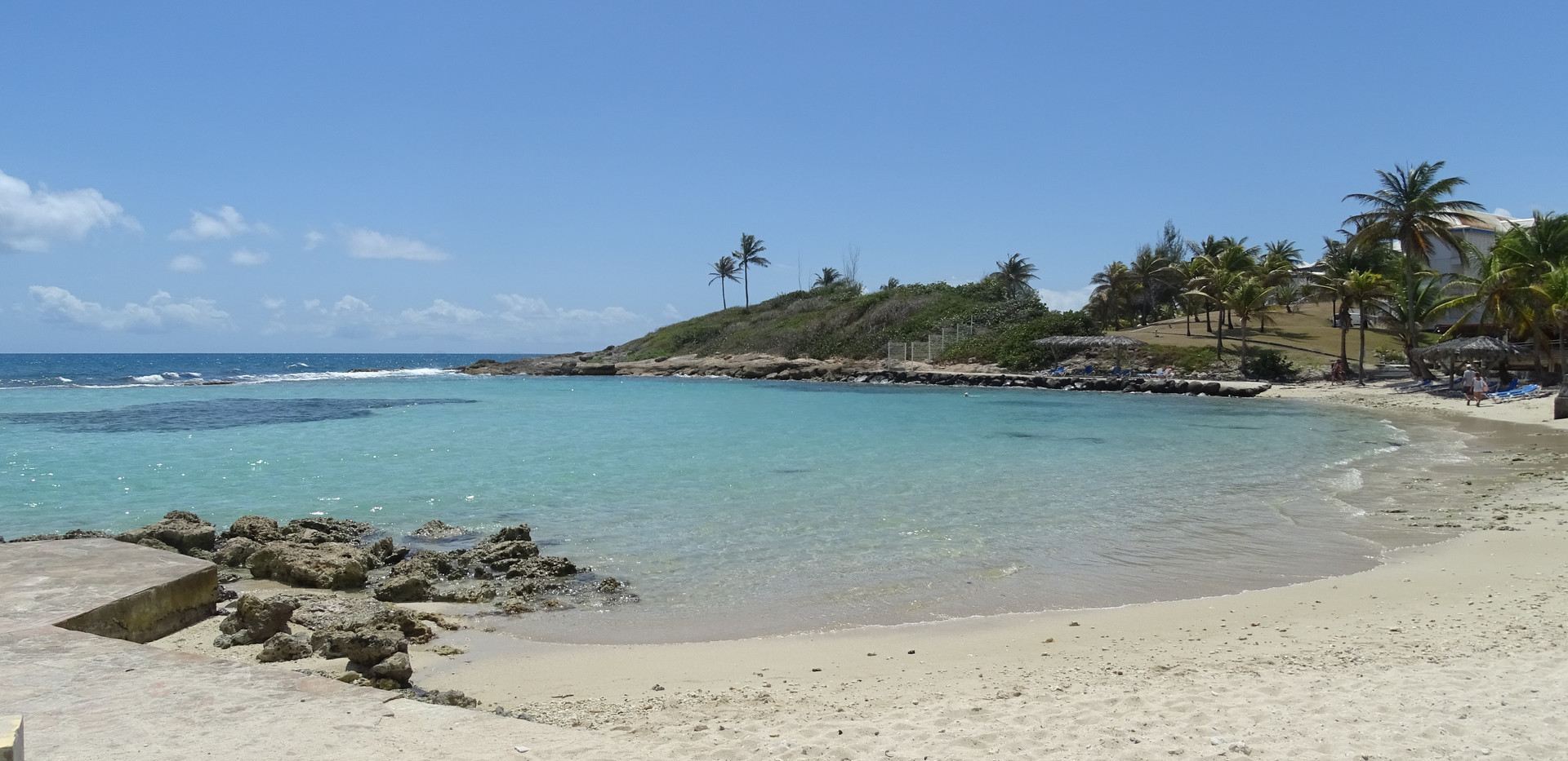 La plage du Manganao