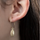 Thumbnail: COWRY HOOP EARRINGS
