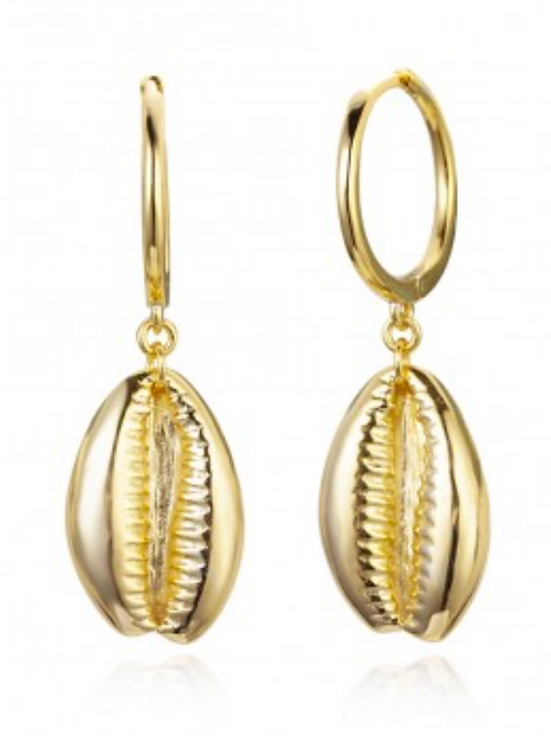 COWRY EARRINGS