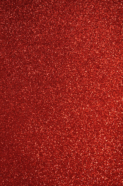 Red Fine Glitter Sheets