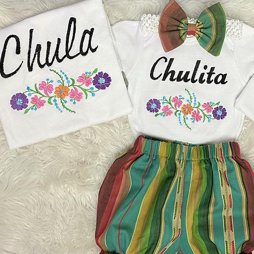 Set de Chula y Chulita