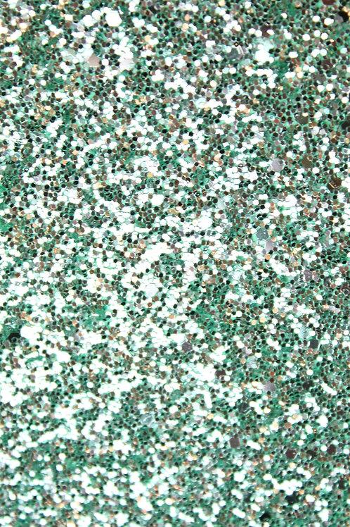 Mint Chunky Glitter Sheet