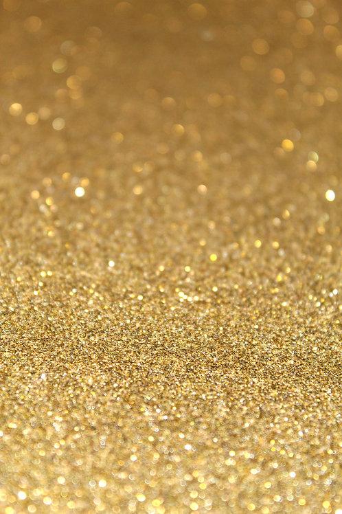 Gold Fine Glitter Sheets