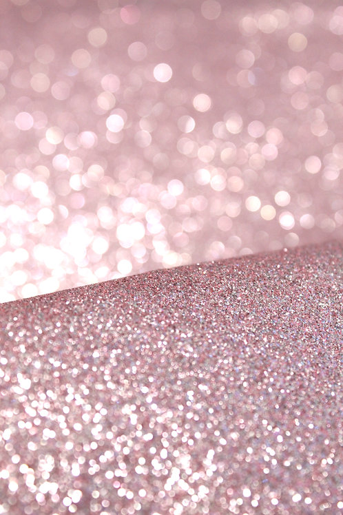Pink Fine Glitter Sheets